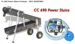 CC690 Power Sluice Package